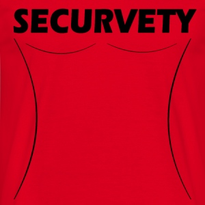 Securvety - Sexy Curvy security. - Men's T-Shirt