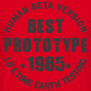 1985 - The year of birth of legendary prototypes - Men's T-Shirt
