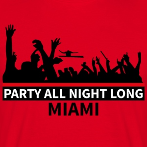 MIAMI Party - Männer T-Shirt