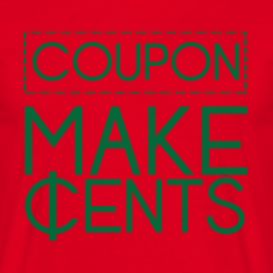 Couponing / Gifts: Coupon maken cent - Mannen T-shirt
