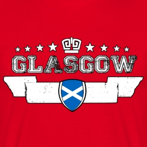Glasgow - Herre-T-shirt