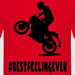 BEST_FEELING_2 - Herre-T-shirt