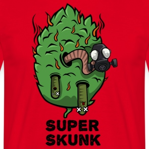 Super Skunk Marijuana Bud - Men's T-Shirt