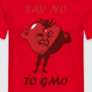 SAY NO TO GMO - Men's T-Shirt