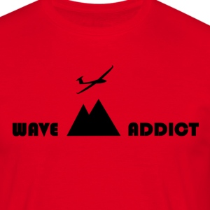 Wave addict black - T-shirt Homme