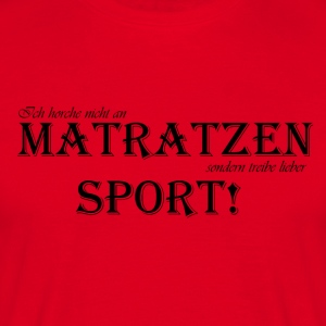 tobejo.de - Matratzensport - black - Men's T-Shirt