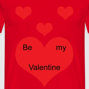 Be_My_Valentine - Mannen T-shirt