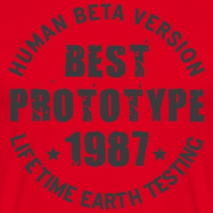 1987 - The year of birth of legendary prototypes - Men's T-Shirt