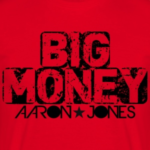 Big Money aaron jones - Maglietta da uomo