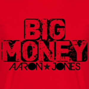 Big Money aaron jones - Men's T-Shirt