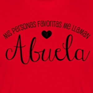 Favoritas Abuela - T-skjorte for menn