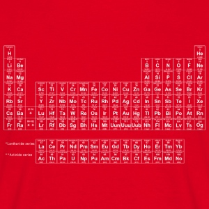 Periodic Table wit - Mannen T-shirt