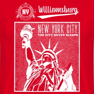 New York City · Williamsburg - T-shirt Homme