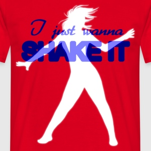 Shake it - Männer T-Shirt