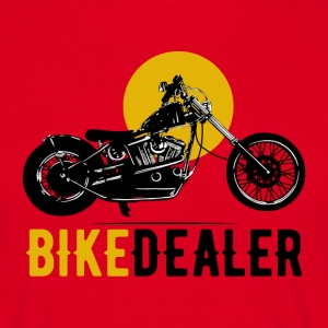 Bike Dealer · LogoArt - Mannen T-shirt