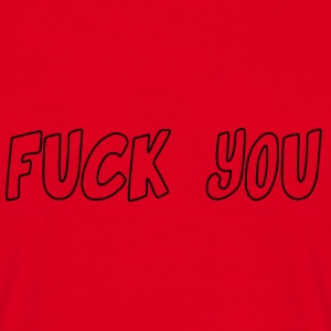 fuck_you - Herre-T-shirt