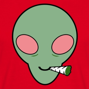 Alien - Herre-T-shirt