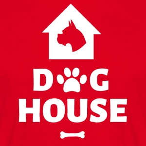 Dog House - Men's T-Shirt