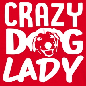 ++ Carzy Dog Lady ++ - Herre-T-shirt