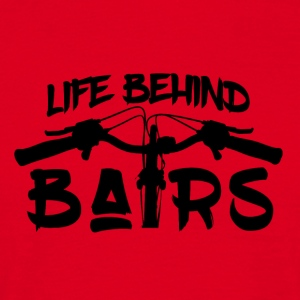 Life Behind Bars - Mountain Bike Passion - Men's T-Shirt