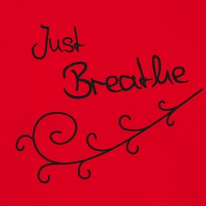 Just Breathe Tanktop (Bio) - Mannen T-shirt