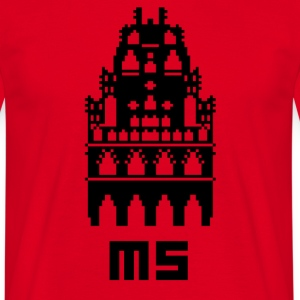 Pixel City MS - Men's T-Shirt