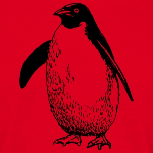 pinguin - T-shirt herr