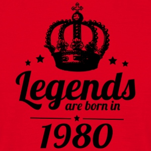 Legends 1980 - T-shirt Homme