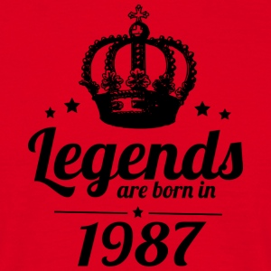 Legends 1987 - Men's T-Shirt