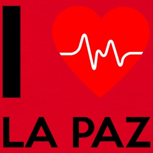 I Love La Paz - I love La Paz - Men's T-Shirt