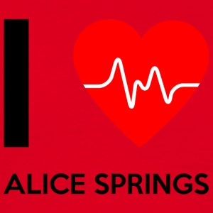 I Love Alice Springs - Ich liebe Alice Springs - Männer T-Shirt
