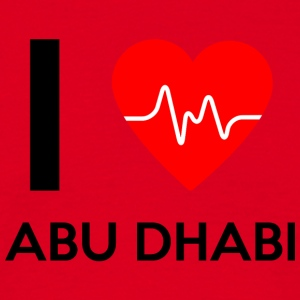 I Love Abu Dhabi - I Love Abu Dhabi - Men's T-Shirt