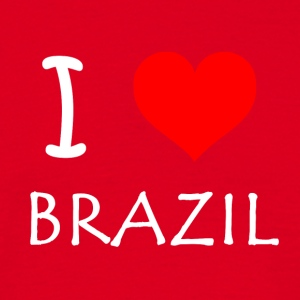 I Love Brazil - Men's T-Shirt