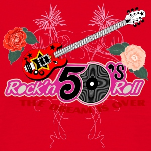 50 s rock n roll - Herre-T-shirt
