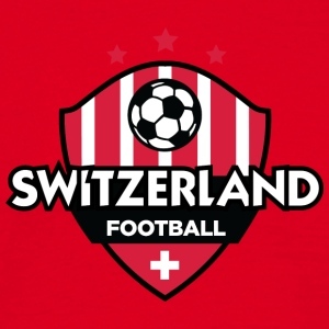 Switzerland Football Emblem - Men's T-Shirt