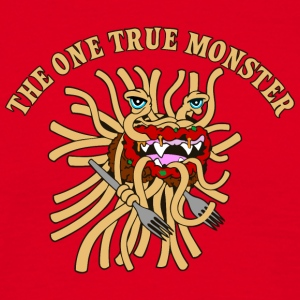 the one true monster WITH FORKS - Men's T-Shirt