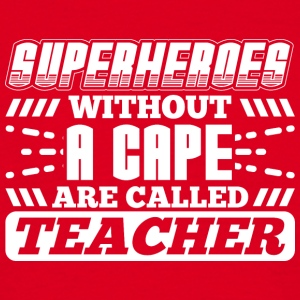 SUPERHEROES TEACHER - Men's T-Shirt