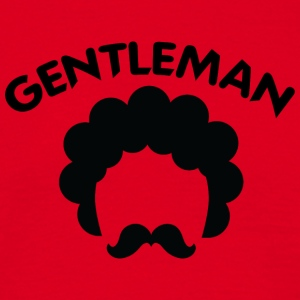 GENTLEMAN curvy black 2 - Men's T-Shirt