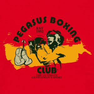 pegasus boxing 01 - Men's T-Shirt
