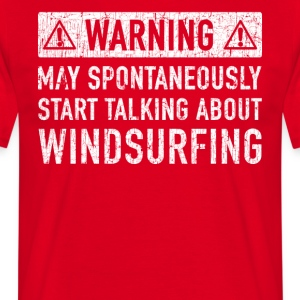 Windsurfing Gift: Order Here - Men's T-Shirt