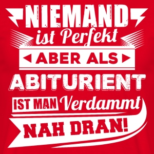 Ingen er perfekt - High School T-Shirt - Herre-T-shirt