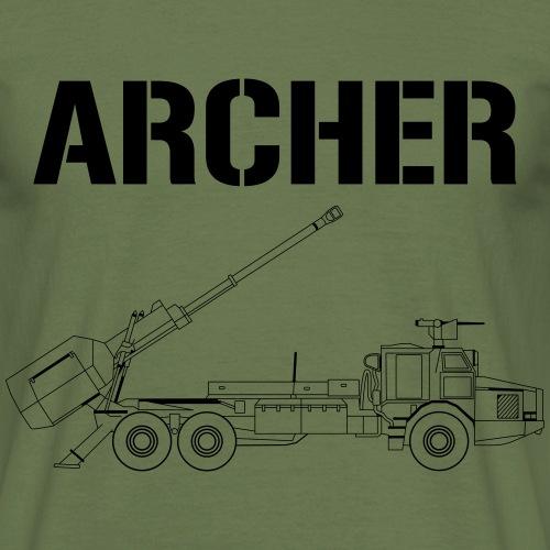 Artillerisystem ARCHER - T-shirt herr