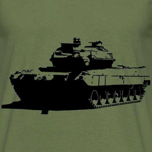 Leopard 2 Kampfpanzer - Stridsvagn 122 - T-shirt herr