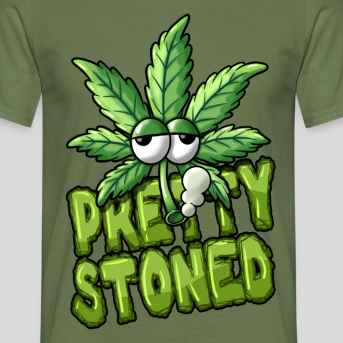 Pretty Stoned - Männer T-Shirt