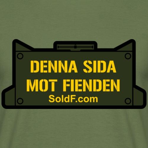 DENNA SIDA MOT FIENDEN - Mina - T-shirt herr