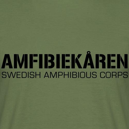 Amfibiekåren -Swedish Amphibious Corps - T-shirt herr