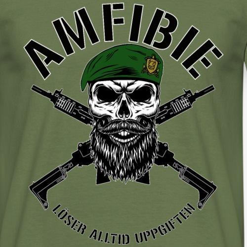 AMFIBIE - Korslagda Ak 5C - T-shirt herr