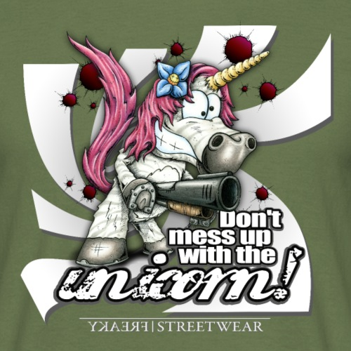Don't mess up with the unicorn