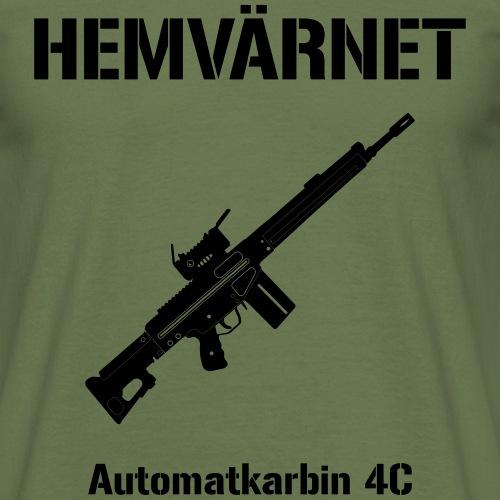 Hemvärnet - Automatkarbin 4C - T-shirt herr