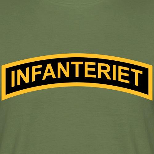 INFANTERIET 2-färg båge - T-shirt herr